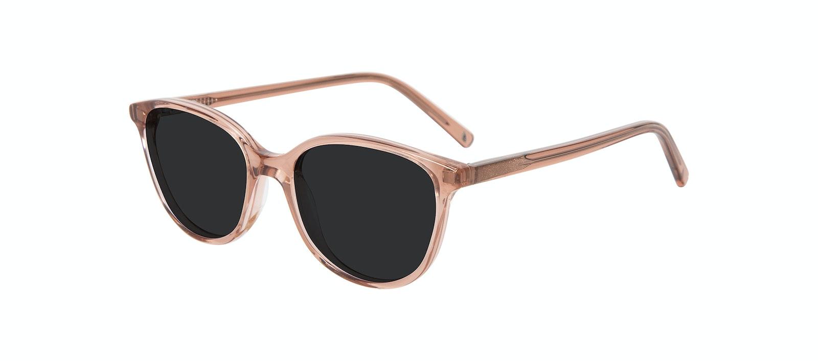 Affordable Fashion Glasses Cat Eye Sunglasses Kids Imagine Junior Rose Tilt