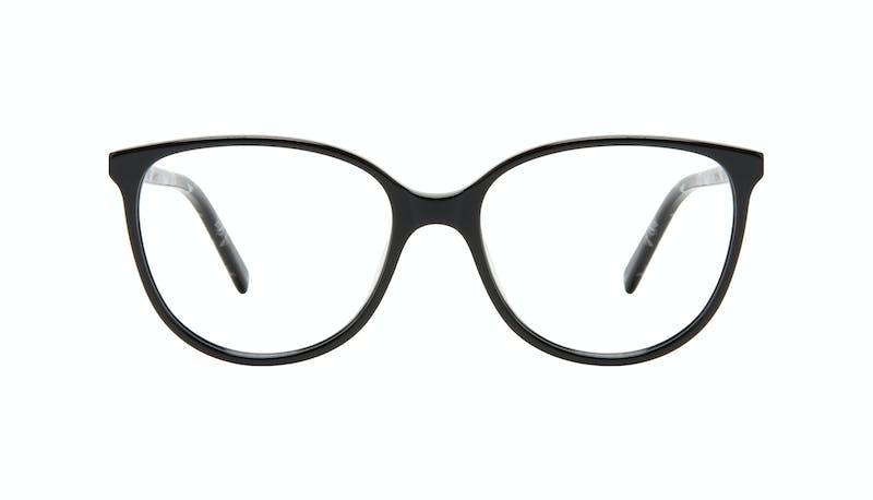 44c6442c6d Affordable Fashion Glasses Round Eyeglasses Women Imagine Petite Onyx