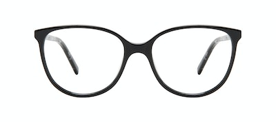 Affordable Fashion Glasses Round Eyeglasses Women Imagine Petite Onyx Front