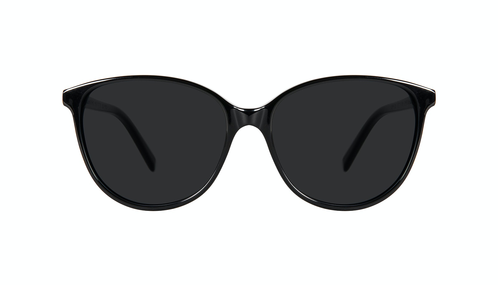 Affordable Fashion Glasses Round Sunglasses Women Imagine Petite Onyx
