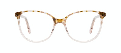 Affordable Fashion Glasses Round Eyeglasses Women Imagine Petite Rose Flake Front