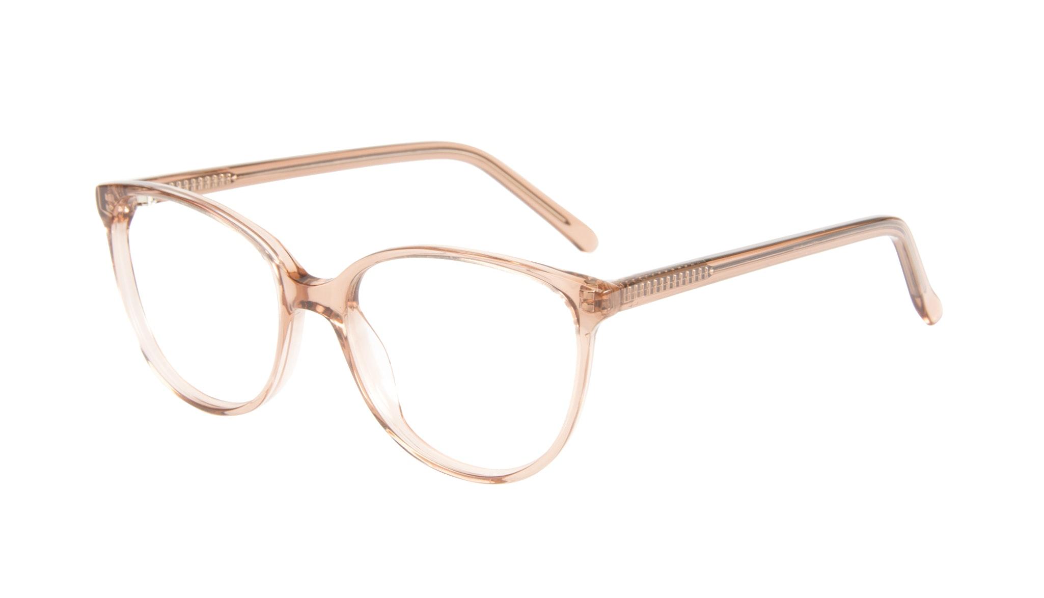 Affordable Fashion Glasses Round Eyeglasses Women Imagine Petite Rose Tilt