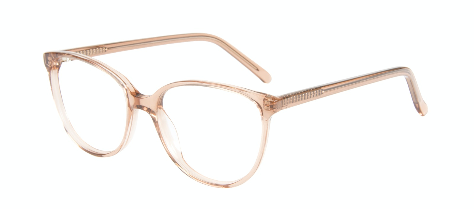 Affordable Fashion Glasses Round Eyeglasses Women Imagine Petite Rose Tilt