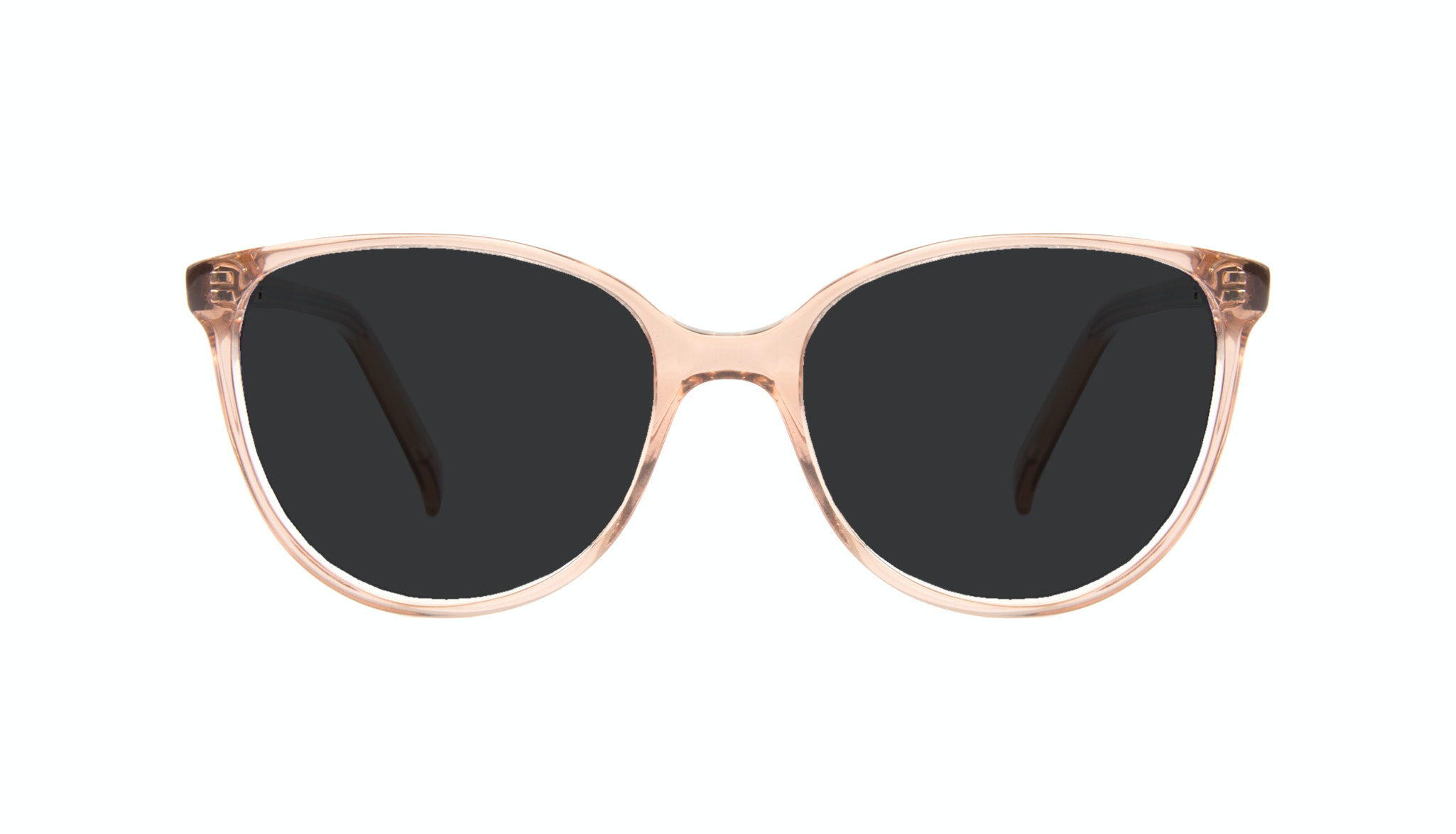 Affordable Fashion Glasses Round Sunglasses Women Imagine Petite Rose Front