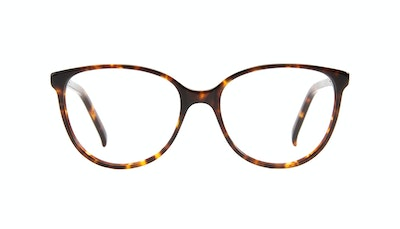 Affordable Fashion Glasses Cat Eye Eyeglasses Women Imagine XS Sepia Kiss Front