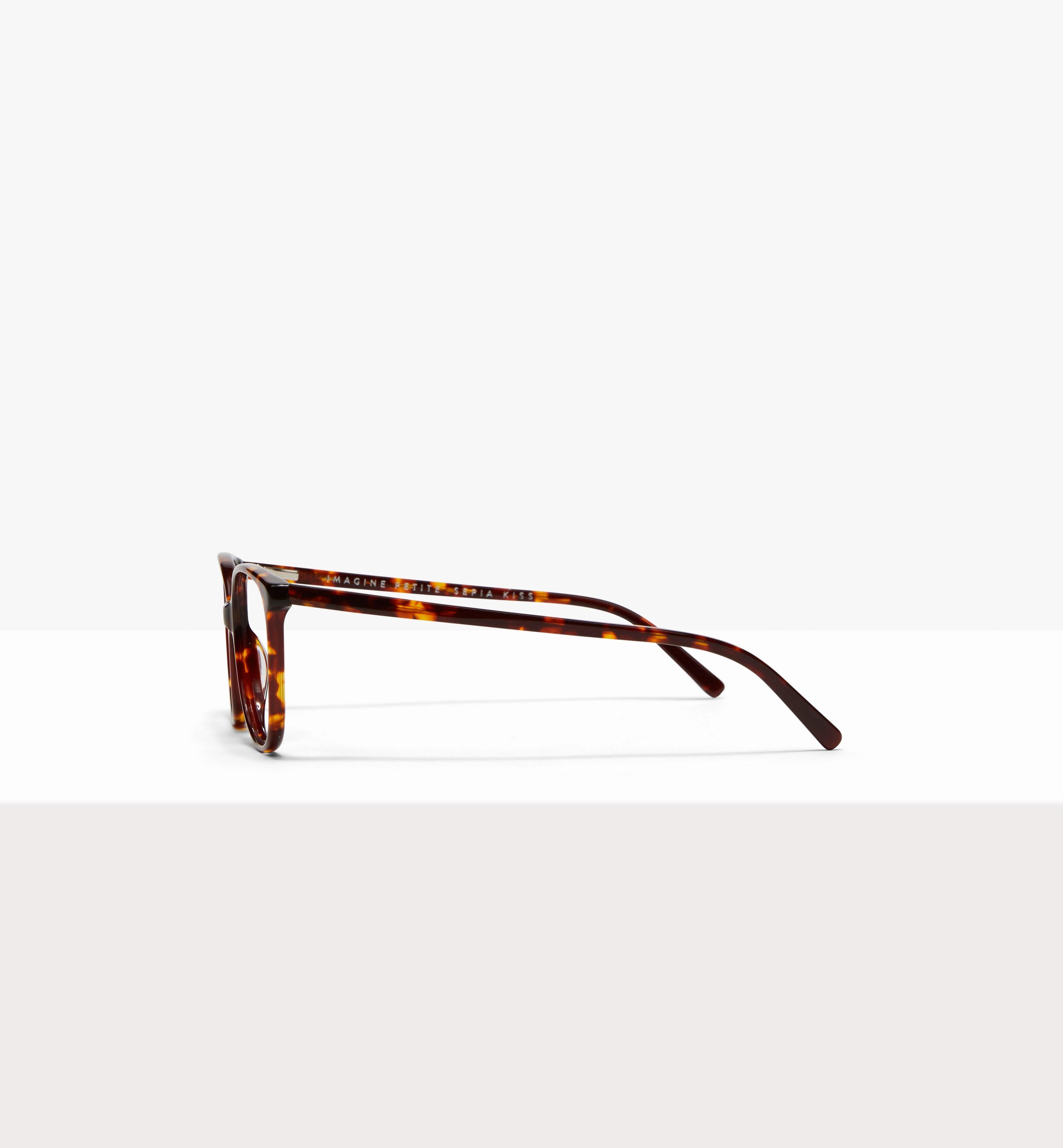 Affordable Fashion Glasses Cat Eye Eyeglasses Women Imagine Petite Sepia Kiss Side