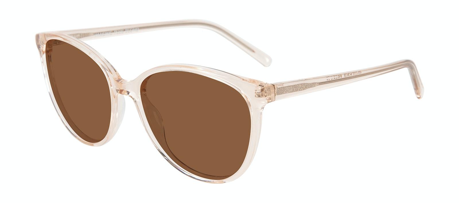 Affordable Fashion Glasses Cat Eye Sunglasses Women Imagine XL Blond Tilt