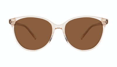Affordable Fashion Glasses Cat Eye Sunglasses Women Imagine XL Blond Front