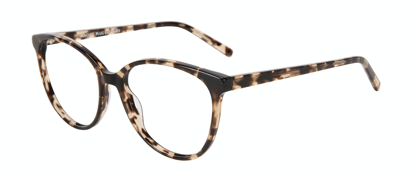 Affordable Fashion Glasses Cat Eye Eyeglasses Women Imagine XL Leopard Tilt