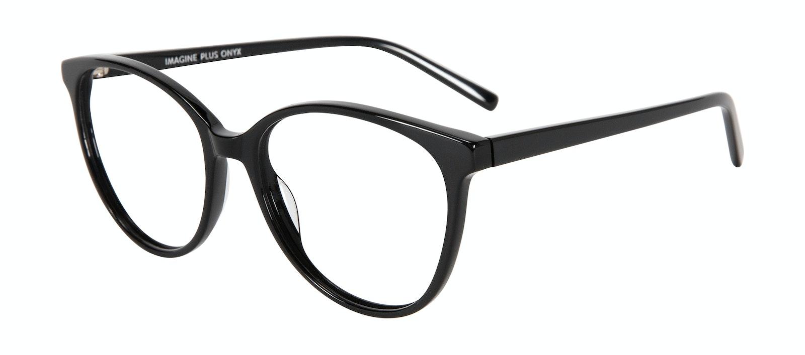 Affordable Fashion Glasses Cat Eye Eyeglasses Women Imagine Plus Onyx Tilt