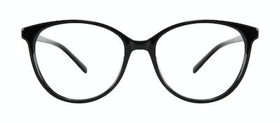 Lunettes tendance Oeil de chat Lunettes de vue Femmes Imagine Plus Onyx Face