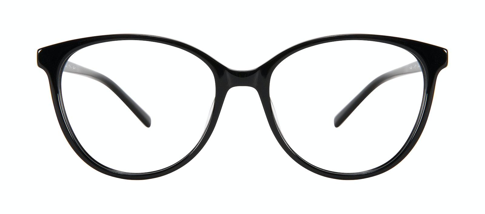 Affordable Fashion Glasses Cat Eye Eyeglasses Women Imagine Plus Onyx Front