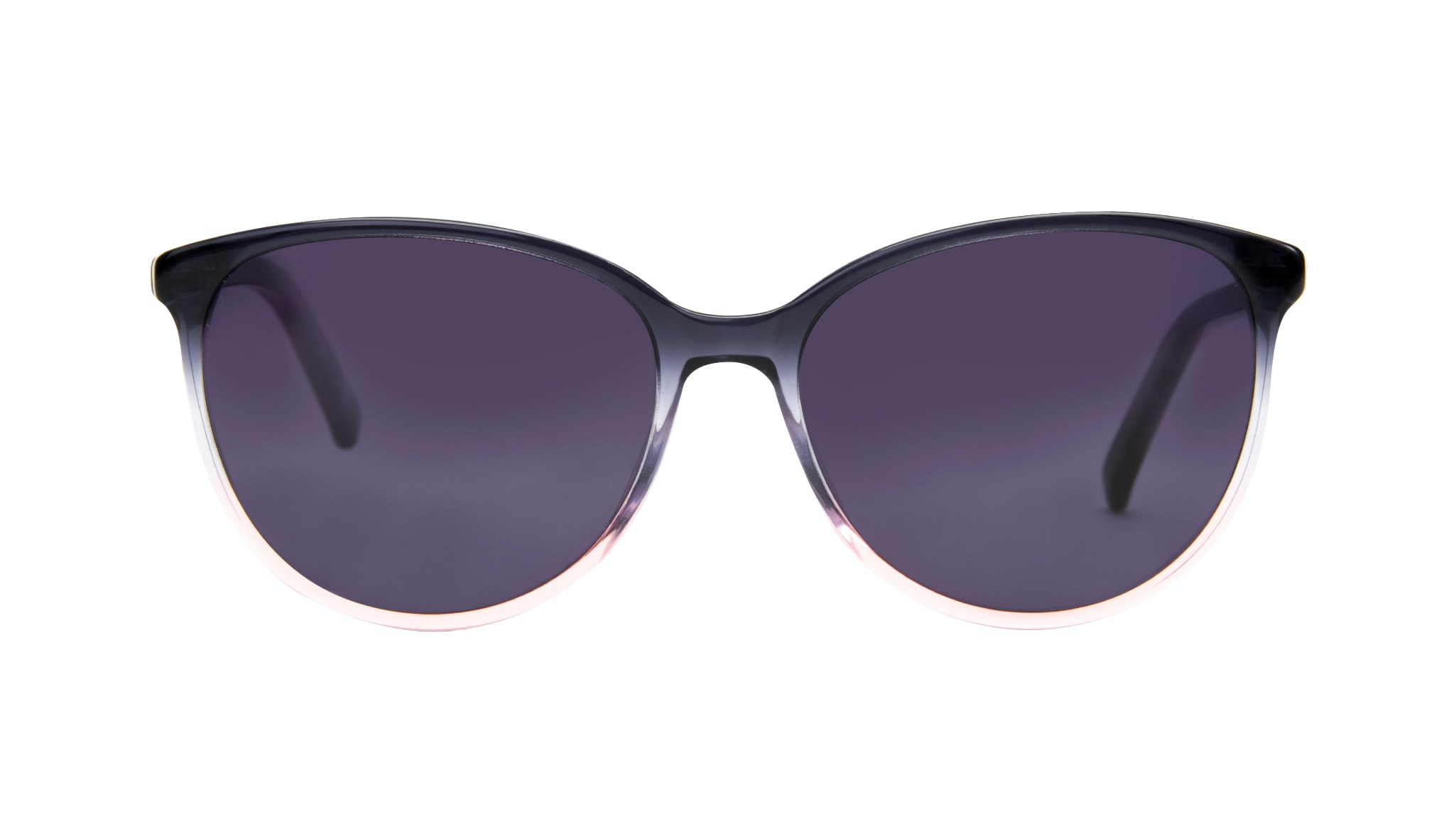 Affordable Fashion Glasses Cat Eye Round Sunglasses Women Imagine Pink Dust Front