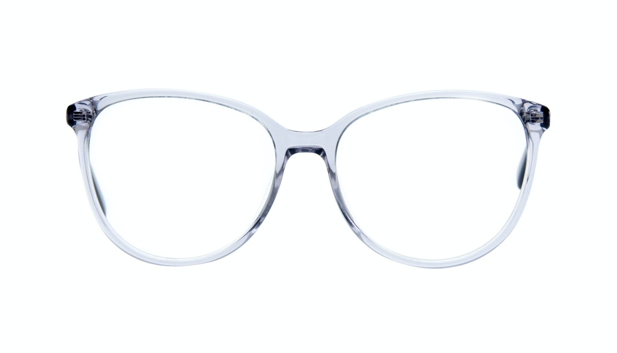 Affordable Fashion Glasses Round Eyeglasses Women Imagine Grey Metal Front