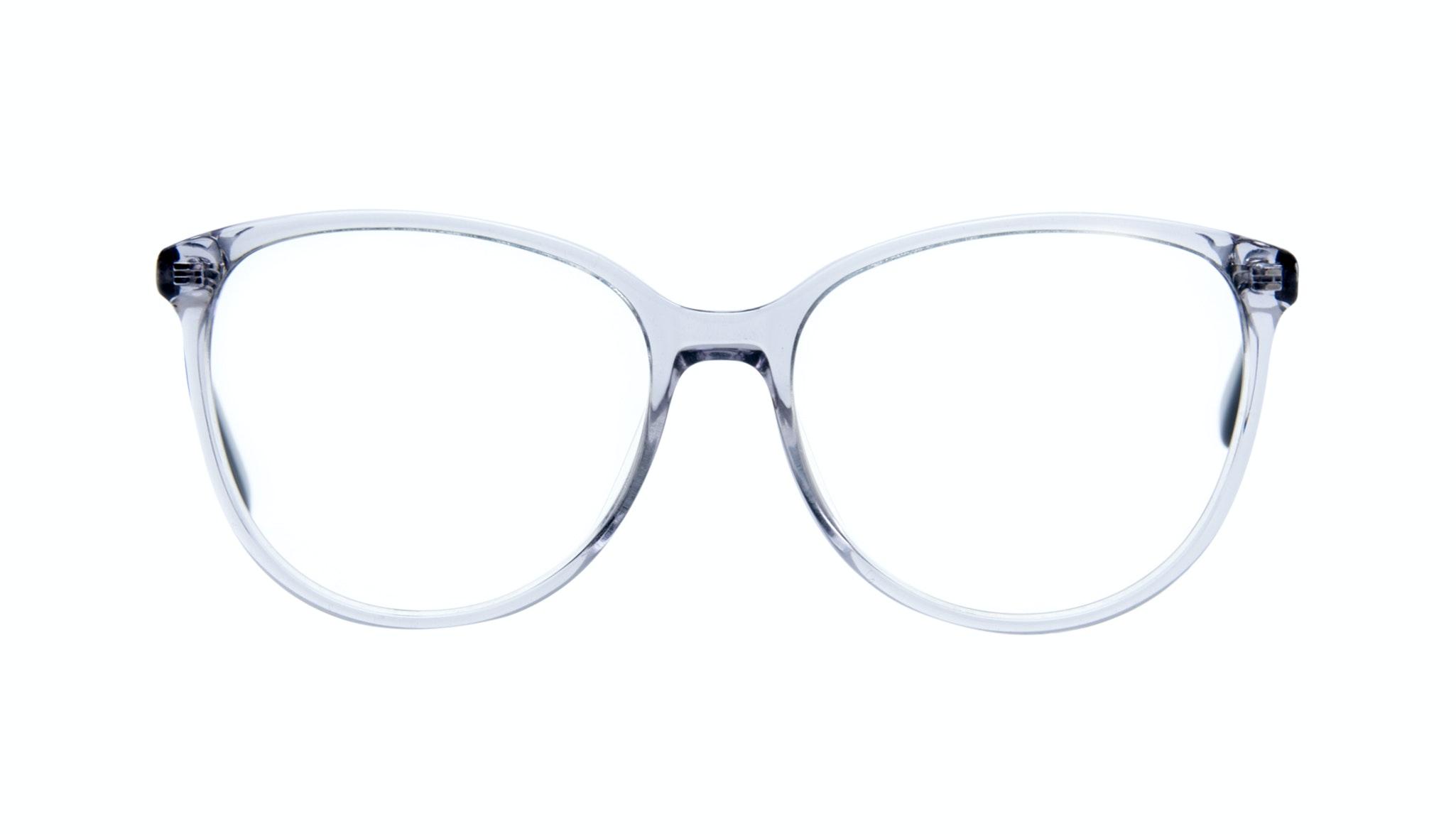 Affordable Fashion Glasses Cat Eye Round Eyeglasses Women Imagine Grey Metal Front