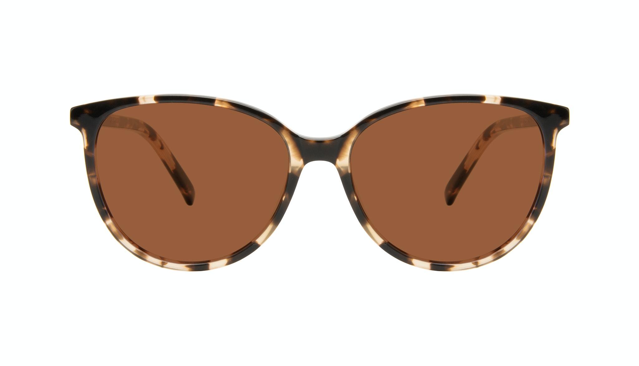 Affordable Fashion Glasses Round Sunglasses Women Imagine Purple Glaze Front