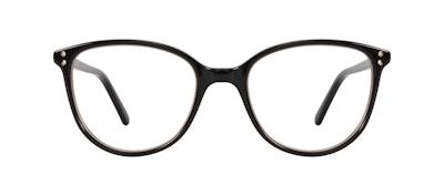 Affordable Fashion Glasses Cat Eye Eyeglasses Women Imagine Petite Shine Onyx Front
