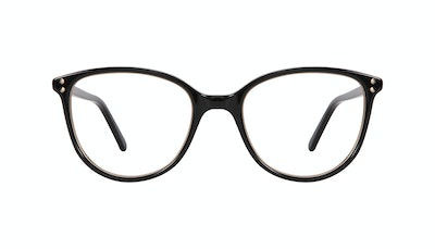 Affordable Fashion Glasses Cat Eye Eyeglasses Women Imagine Petite Shine Onyx Front