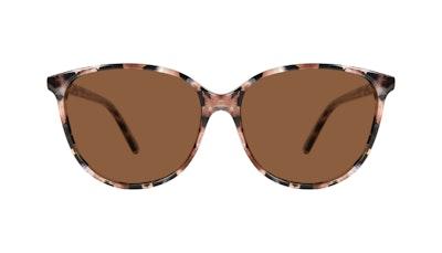 Lunettes tendance Oeil de chat Lunettes de soleil Femmes Imagine Pink Tortoise Face