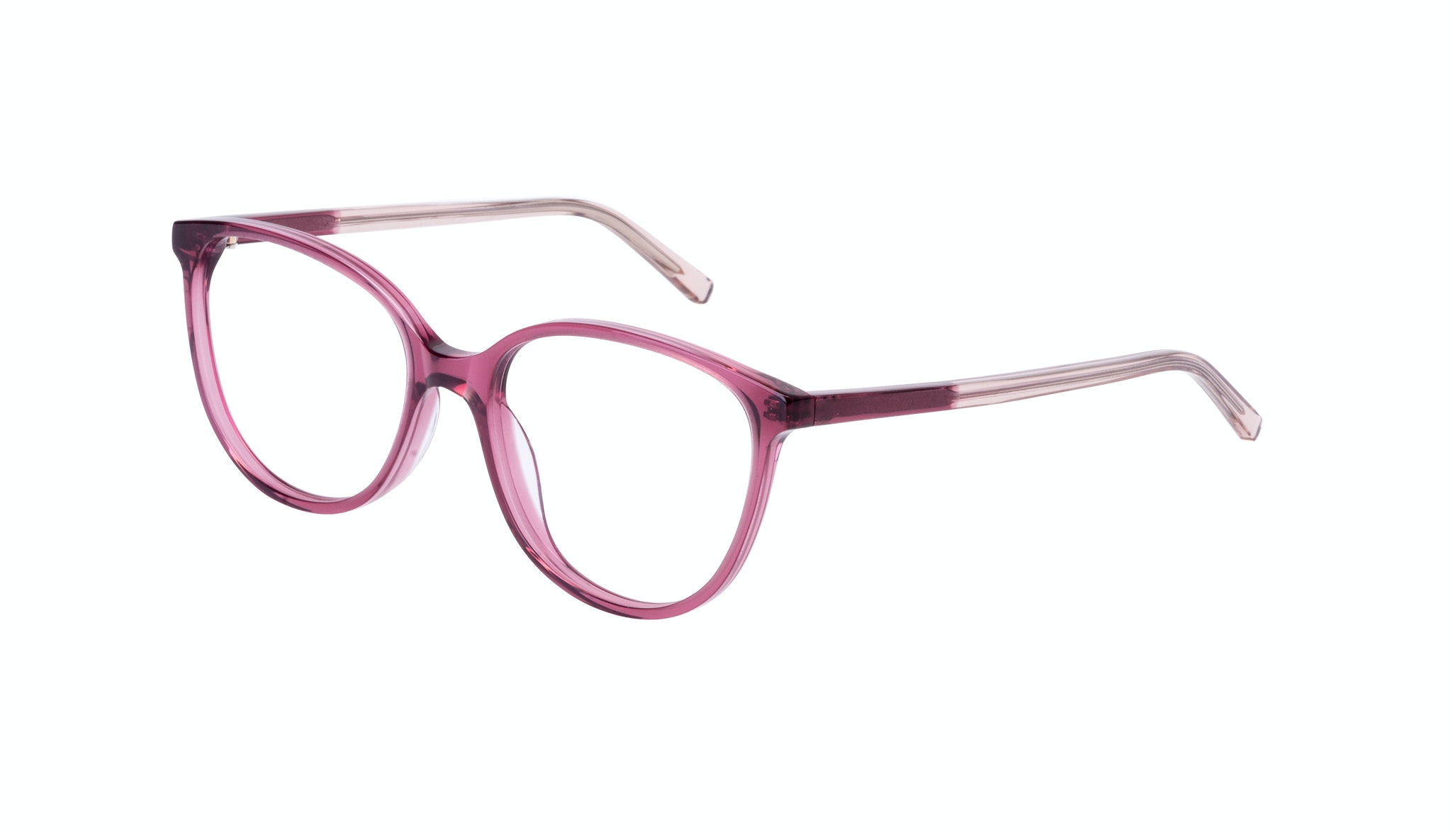 Affordable Fashion Glasses Round Eyeglasses Women Imagine Petite Berry Tilt