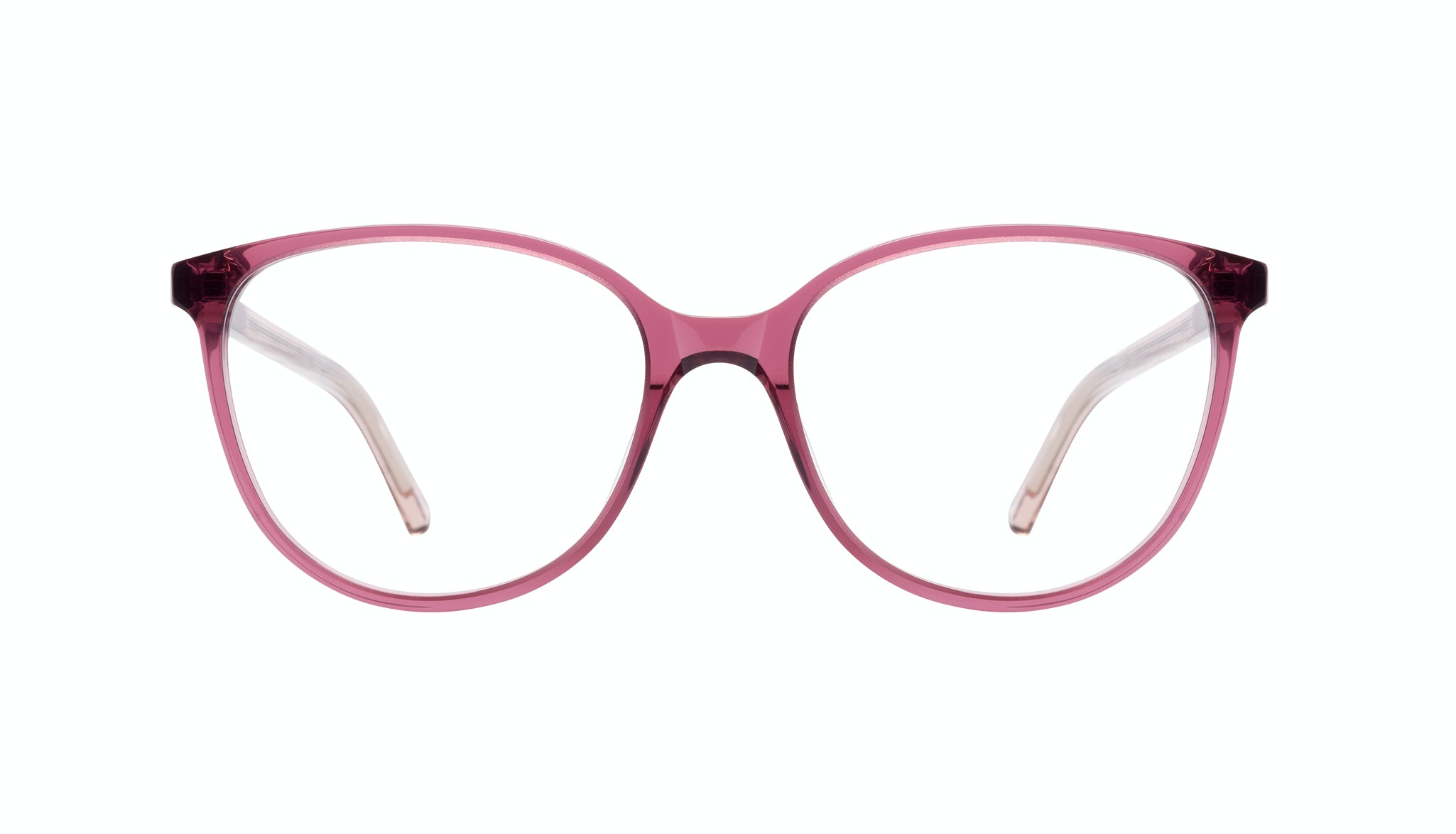 Affordable Fashion Glasses Round Eyeglasses Women Imagine Petite Berry Front