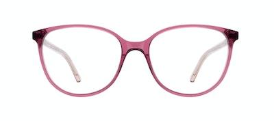 Lunettes tendance Ronde Lunettes de vue Femmes Imagine Petite Berry Face