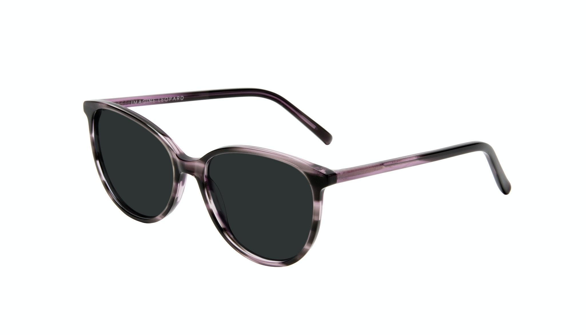Affordable Fashion Glasses Round Sunglasses Women Imagine Leopard Tilt