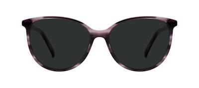 Affordable Fashion Glasses Cat Eye Sunglasses Women Imagine Leopard Purple Front