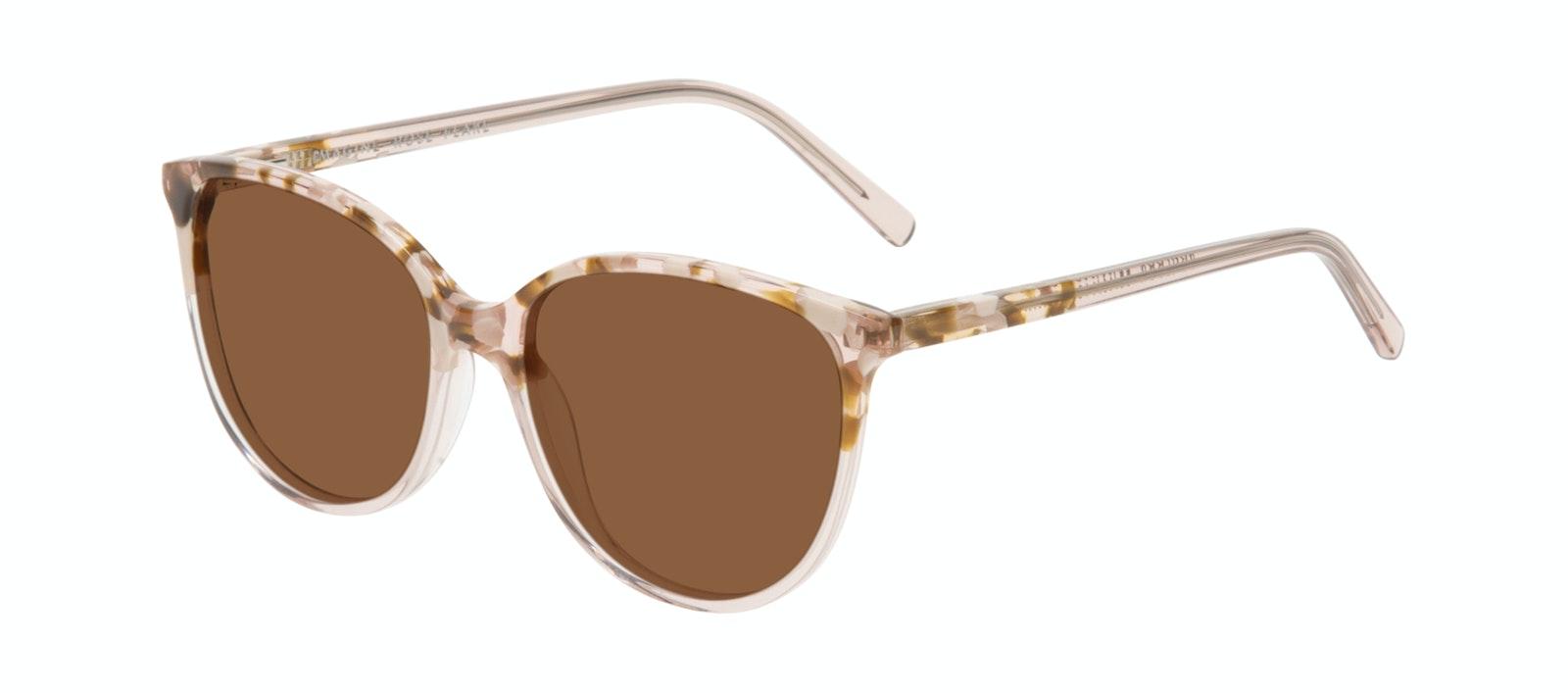 Affordable Fashion Glasses Cat Eye Sunglasses Women Imagine Rose Flake Tilt