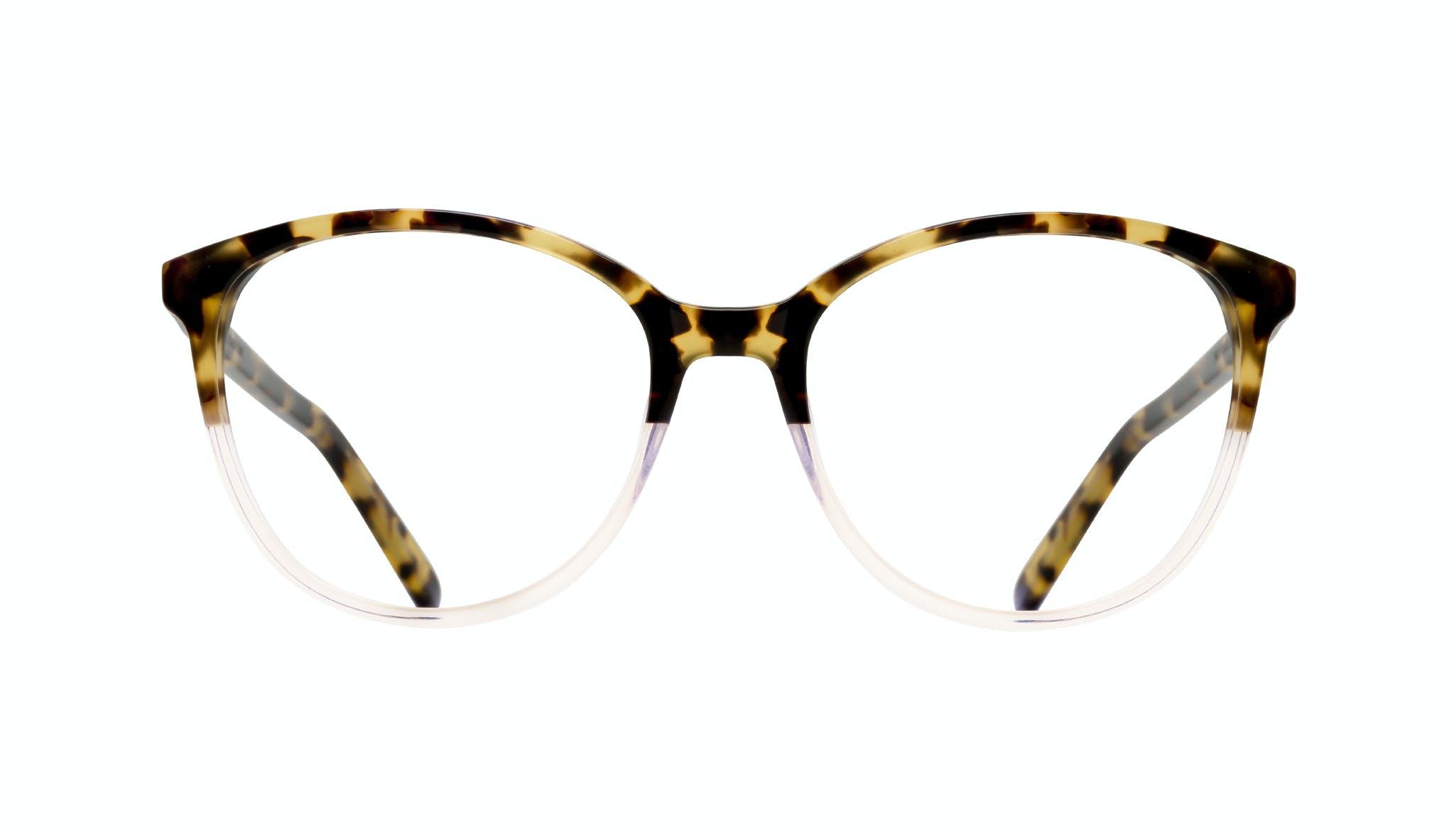Affordable Fashion Glasses Cat Eye Round Eyeglasses Women Imagine Blond Tort Front