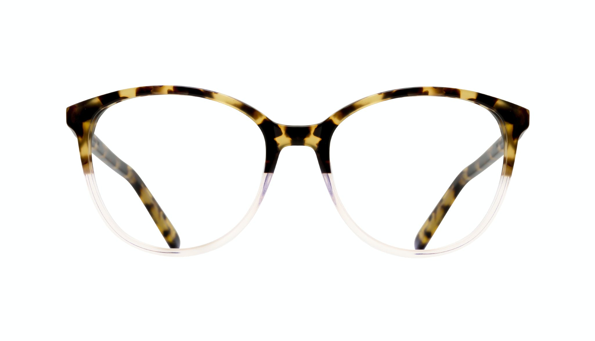Affordable Fashion Glasses Cat Eye Round Eyeglasses Women Imagine Blond Tort Front