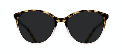 Affordable Fashion Glasses Cat Eye Sunglasses Women Imagine Blond Tort Front