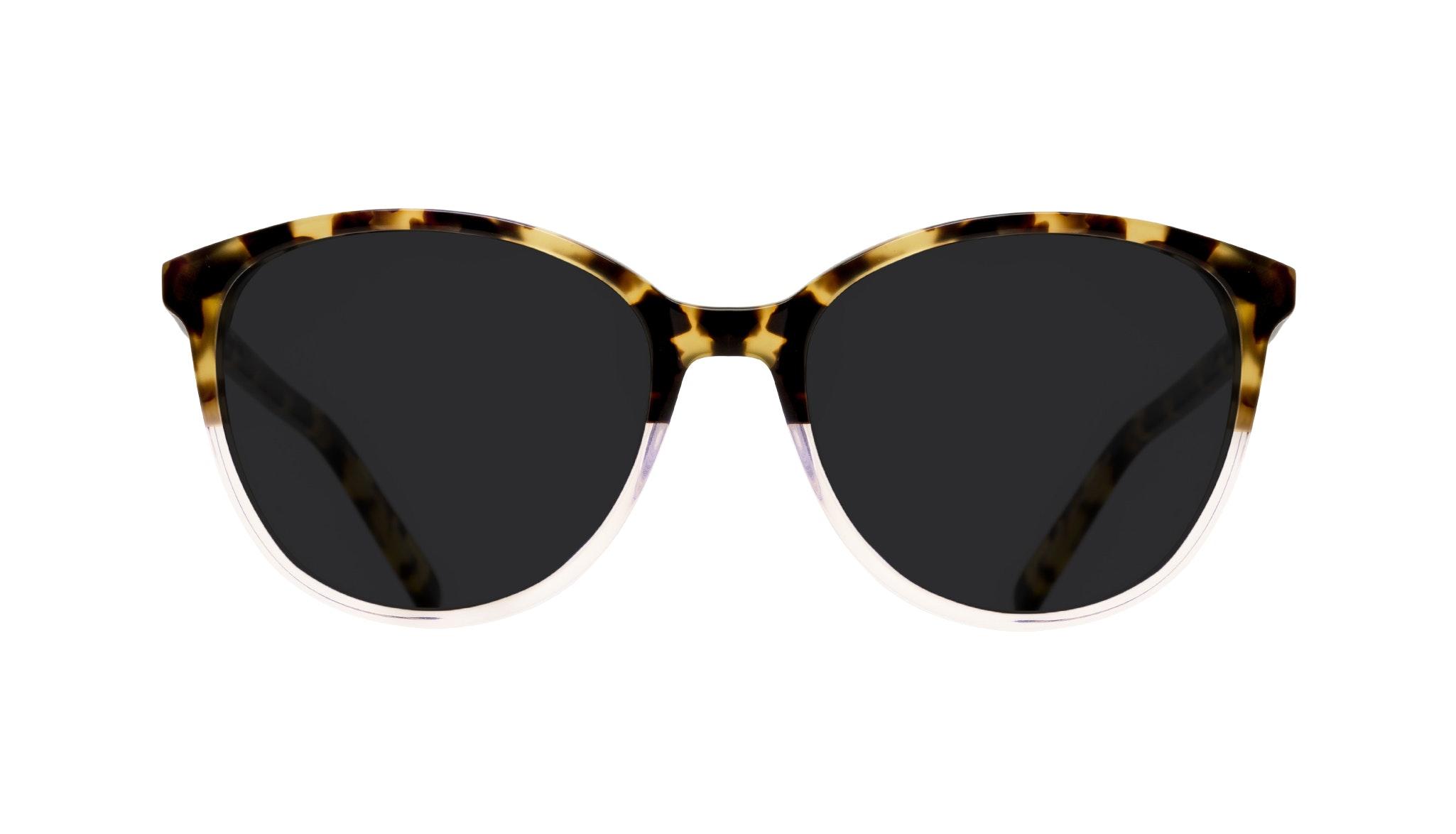 Lunettes tendance Oeil de chat Ronde Lunettes solaires Femmes Imagine Blond Tort