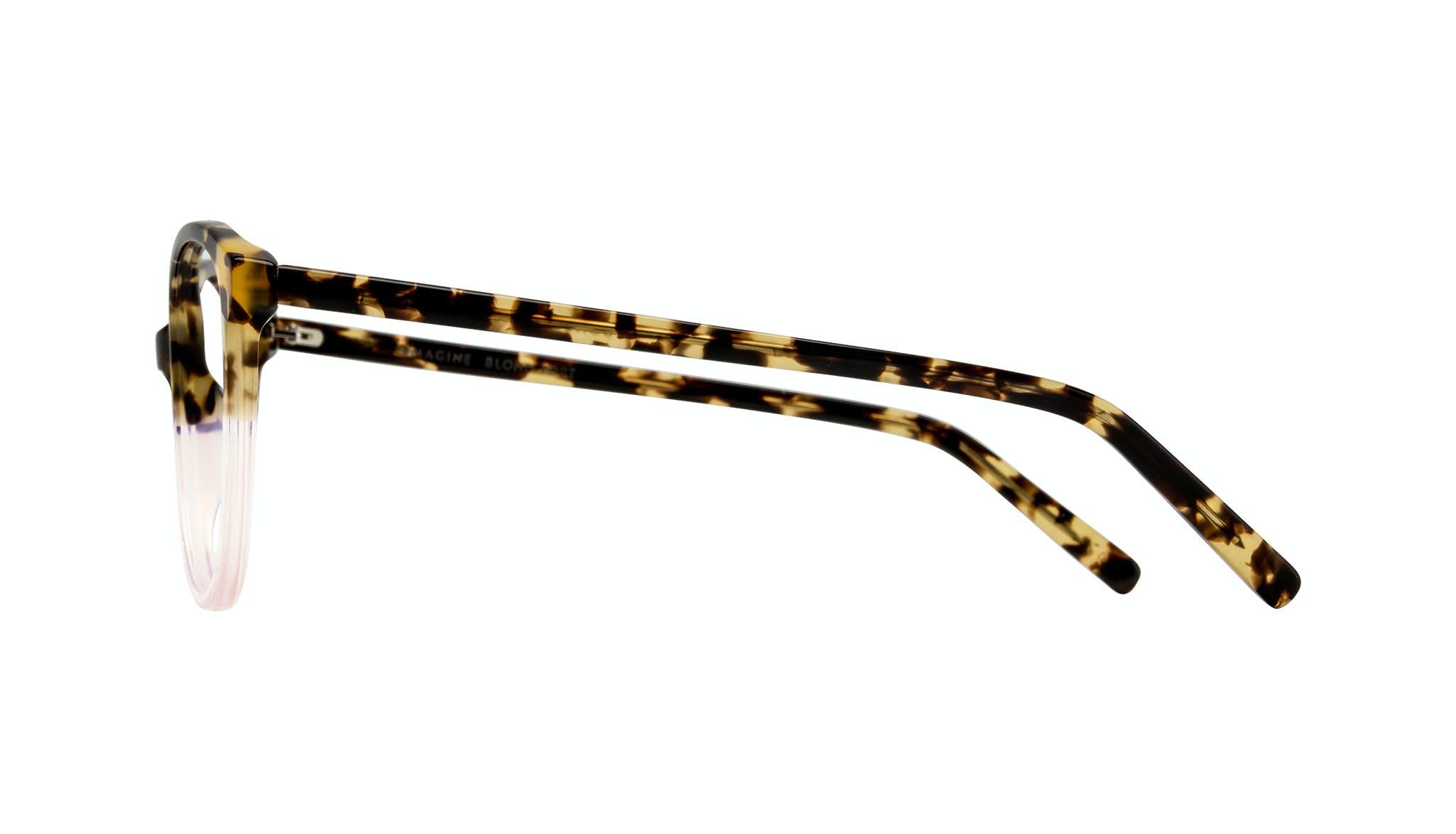 Affordable Fashion Glasses Cat Eye Round Eyeglasses Women Imagine Blond Tort Side