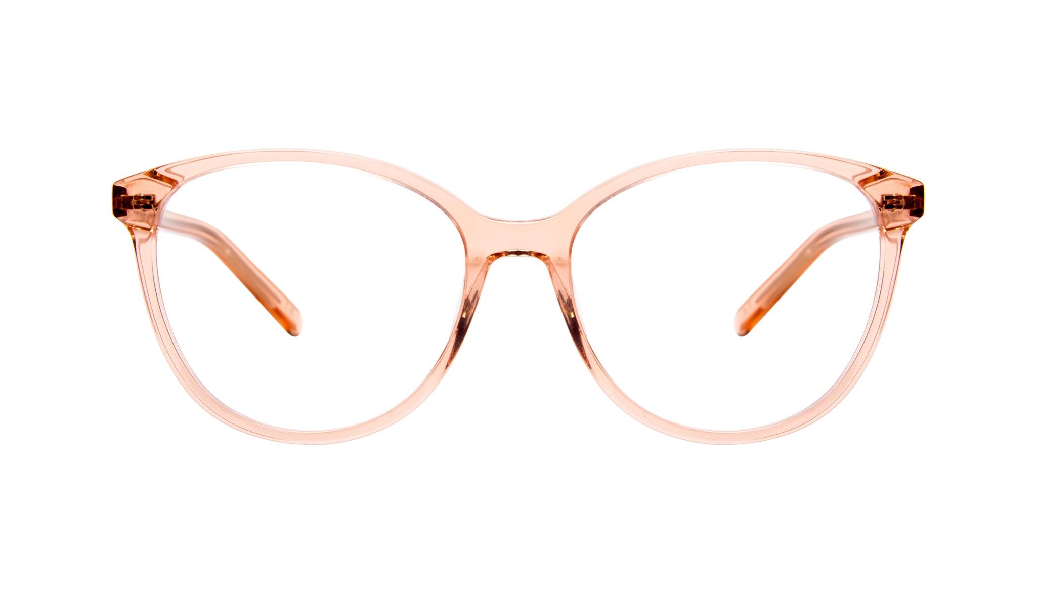 Affordable Fashion Glasses Round Eyeglasses Women Imagine Peach
