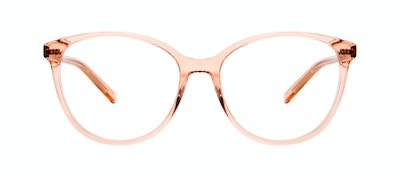 Affordable Fashion Glasses Cat Eye Eyeglasses Women Imagine Peach Front