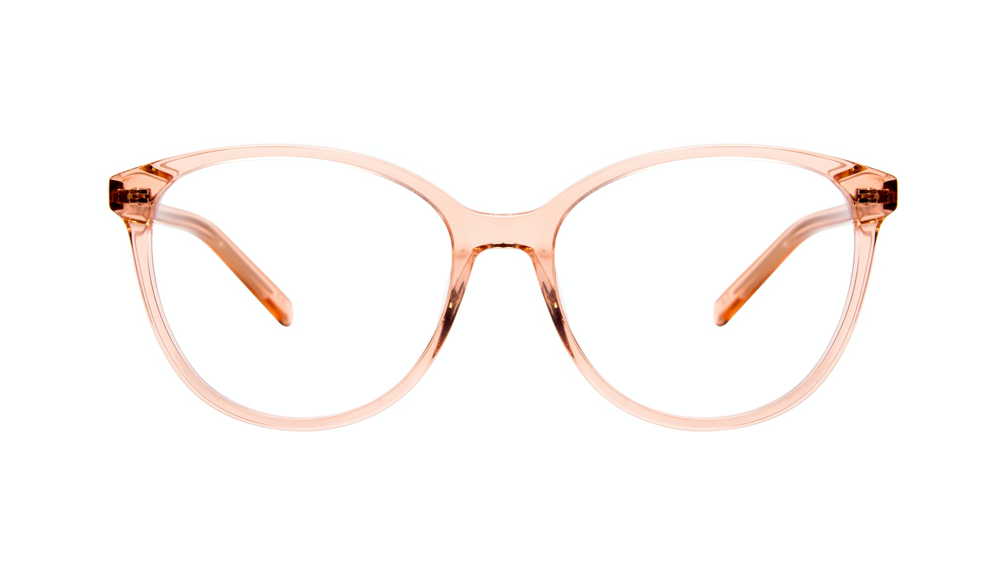 Affordable Fashion Glasses Cat Eye Round Eyeglasses Women Imagine Peach