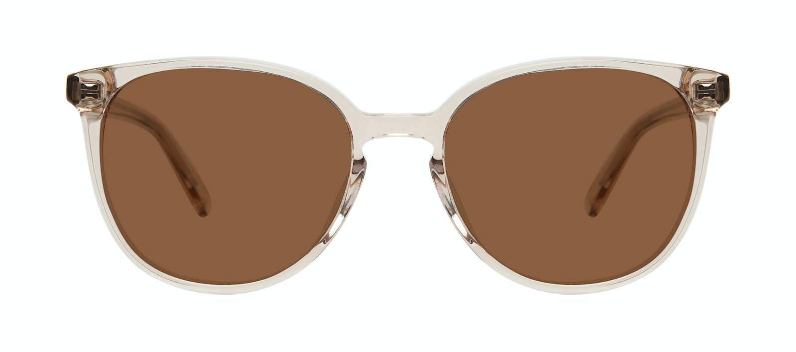 Affordable Fashion Glasses Round Sunglasses Women Impression Blond Front