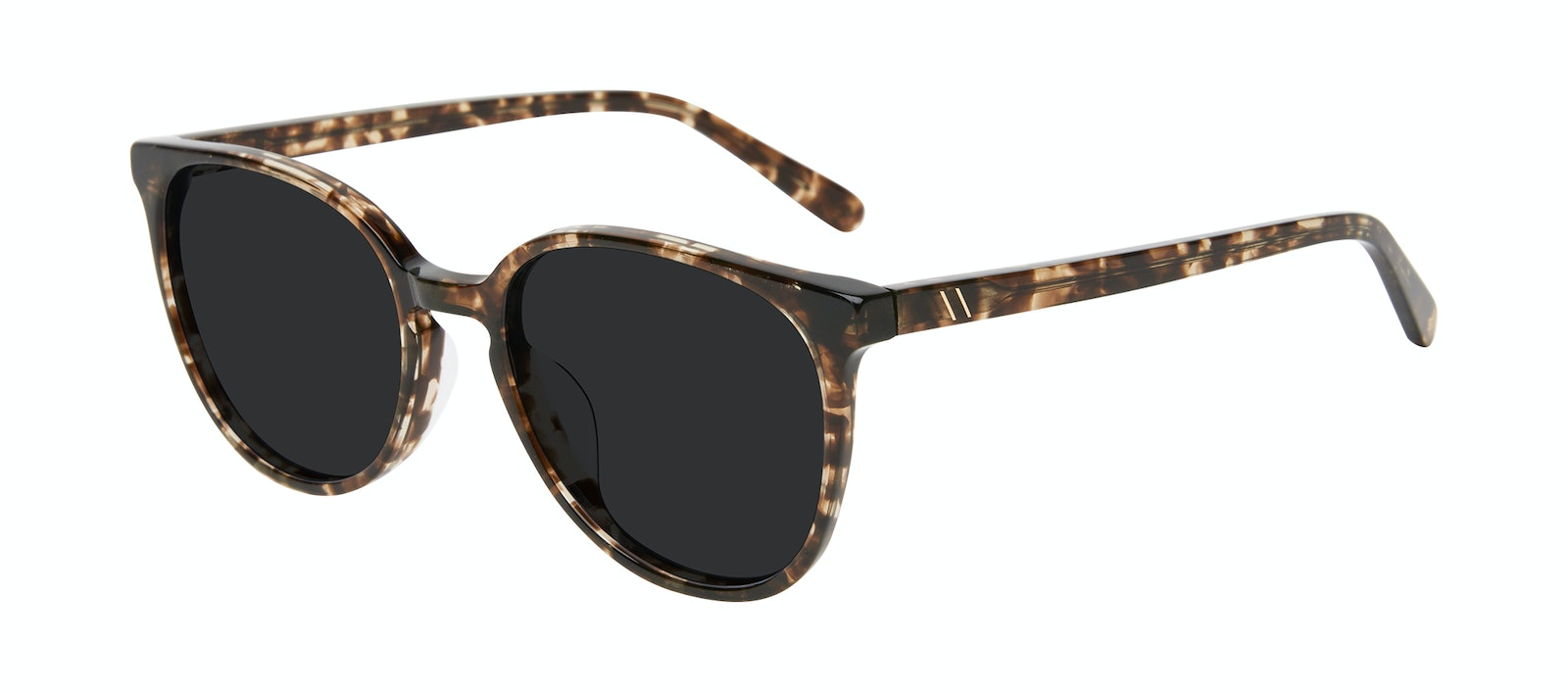 Affordable Fashion Glasses Round Sunglasses Women Impression Leopard Tilt