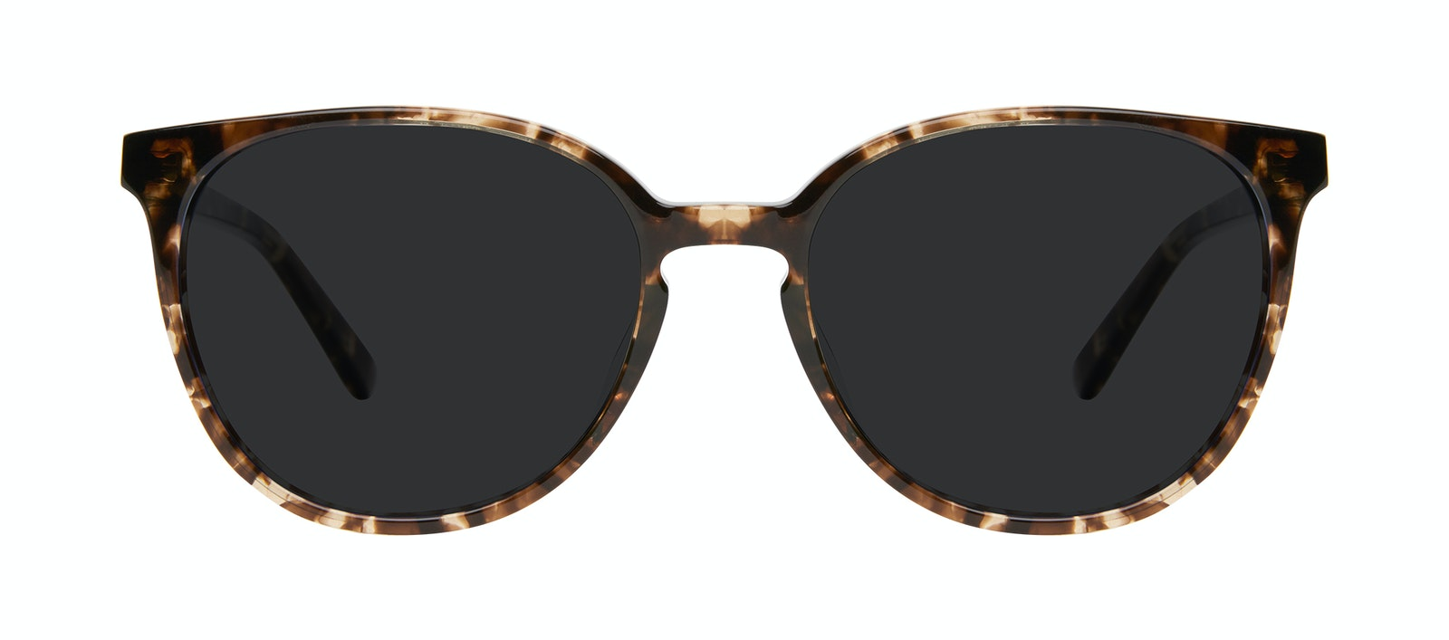 Affordable Fashion Glasses Round Sunglasses Women Impression Leopard Front