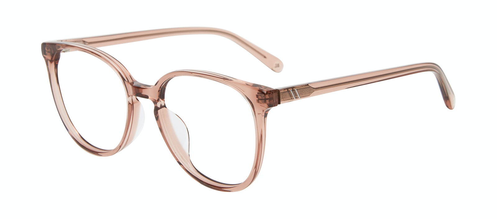Affordable Fashion Glasses Round Eyeglasses Women Impression Rose Tilt