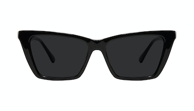 Affordable Fashion Glasses Cat Eye Sunglasses Women Indio Black Front