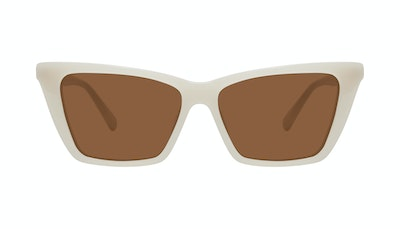 Affordable Fashion Glasses Cat Eye Sunglasses Women Indio Vanilla Front