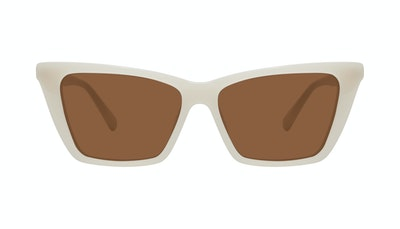 Affordable Fashion Glasses Cat Eye Sunglasses Women Indio M Vanilla Front