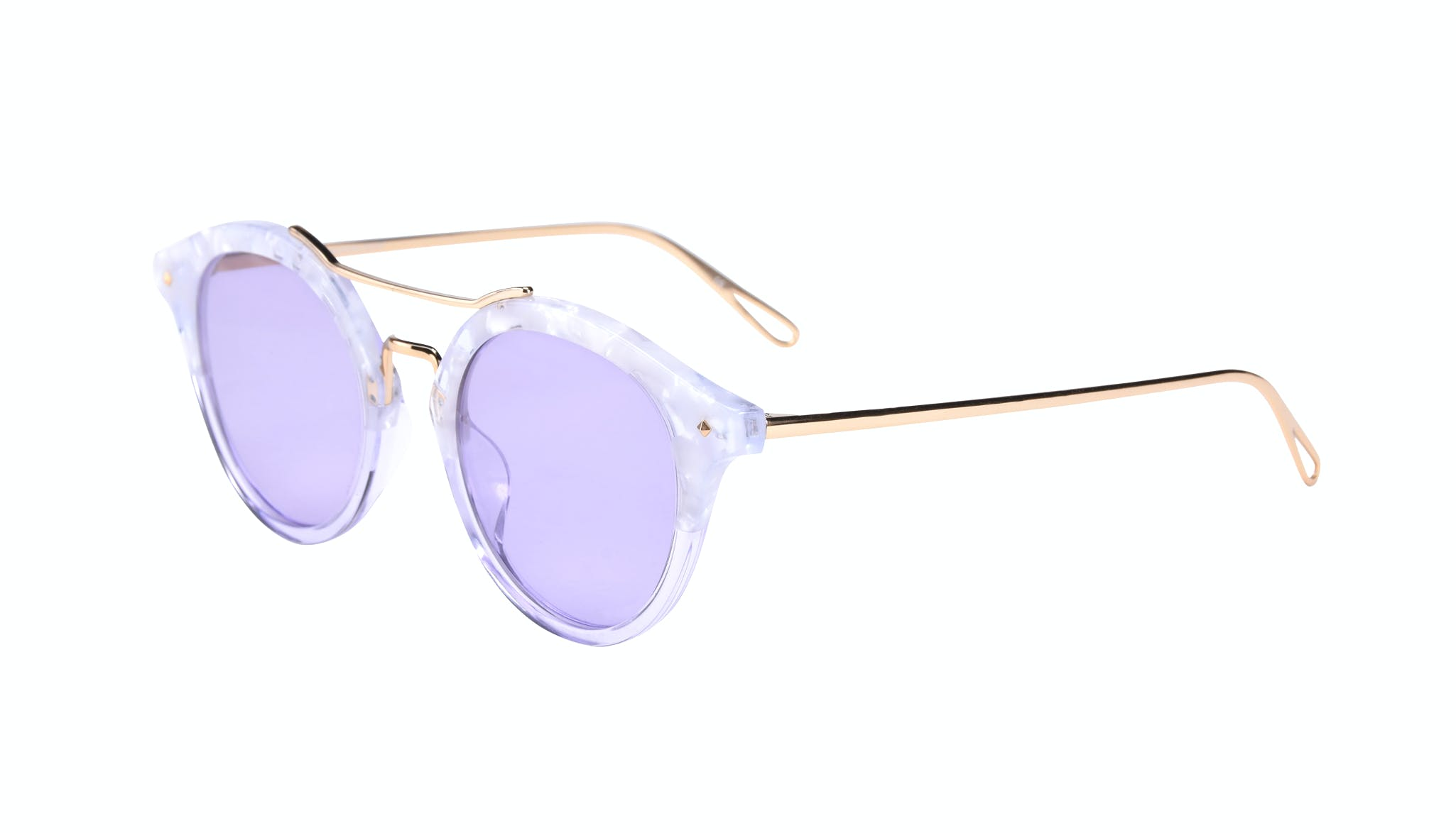 Affordable Fashion Glasses Round Sunglasses Women Infinite Moonlight Tilt