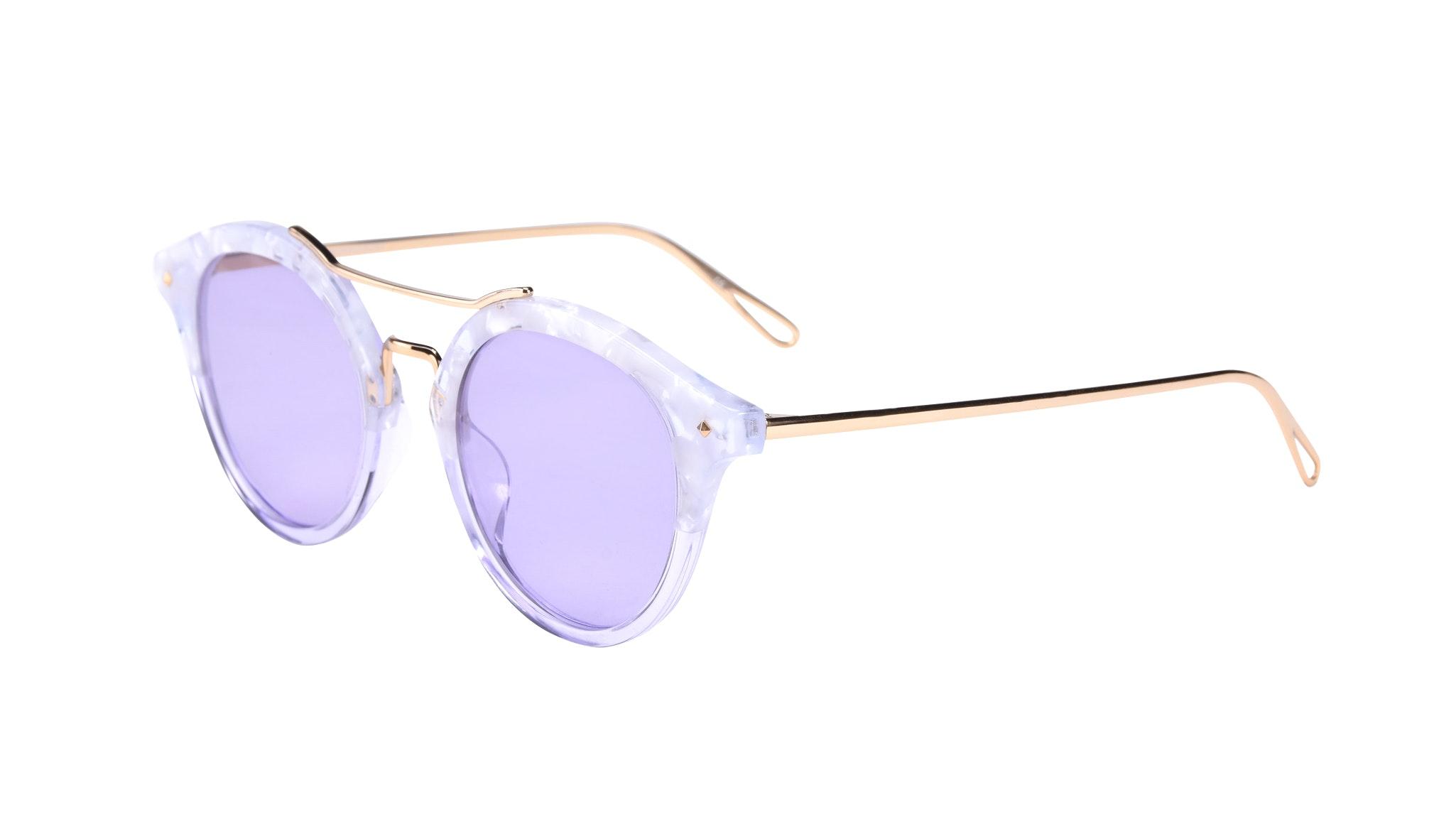 Affordable Fashion Glasses Round Sunglasses Women Infinite Moonlight Tilt