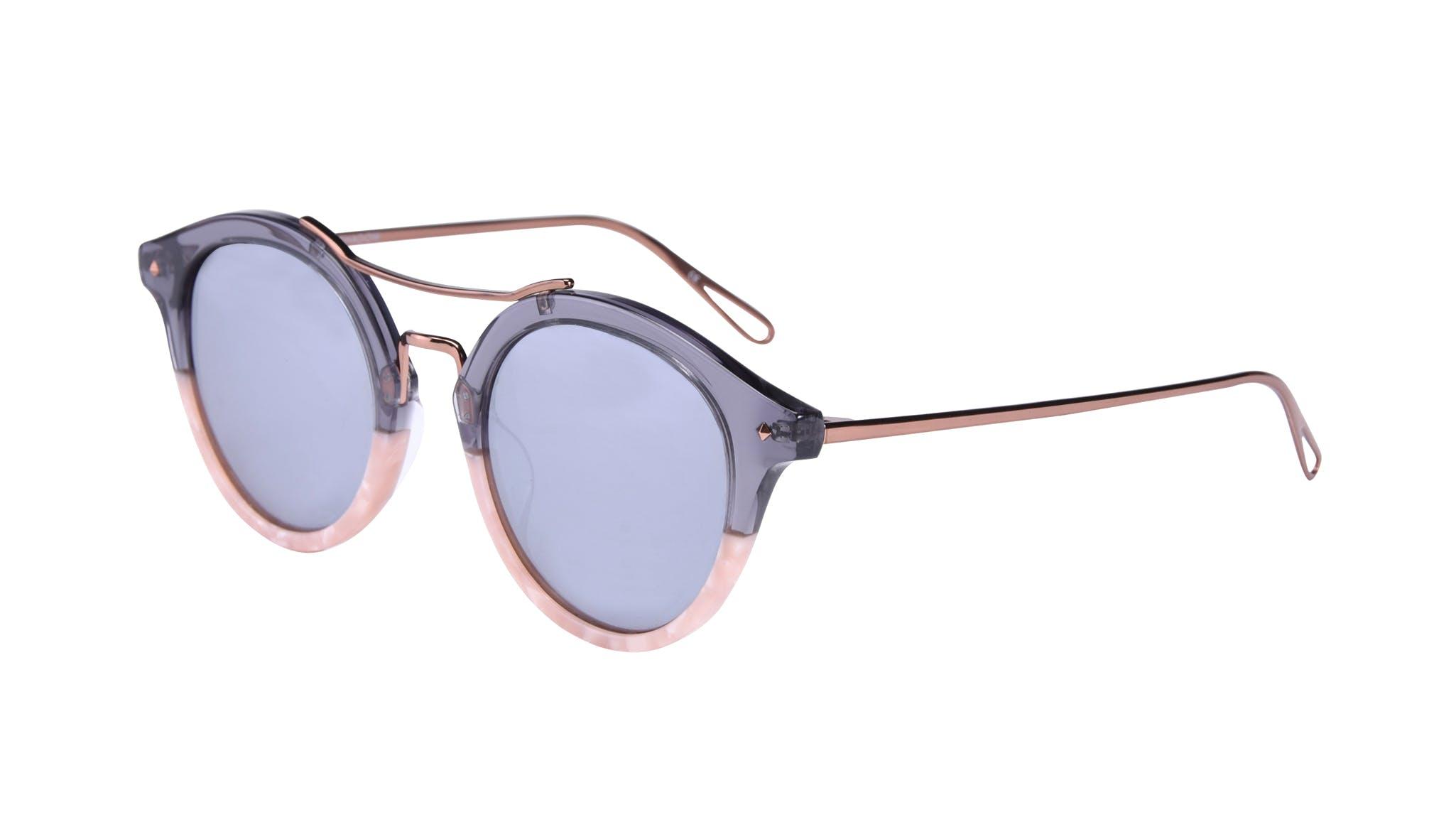 Affordable Fashion Glasses Round Sunglasses Women Infinite Rose Shadow Tilt