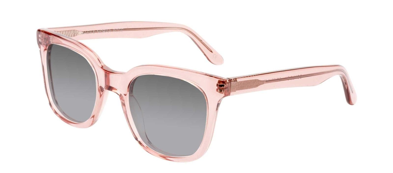 Affordable Fashion Glasses Rectangle Square Sunglasses Women Jack & Norma Rose Tilt