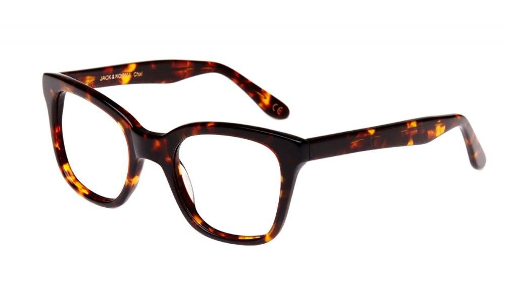 Affordable Fashion Glasses Rectangle Square Eyeglasses Women Jack & Norma chai Tilt