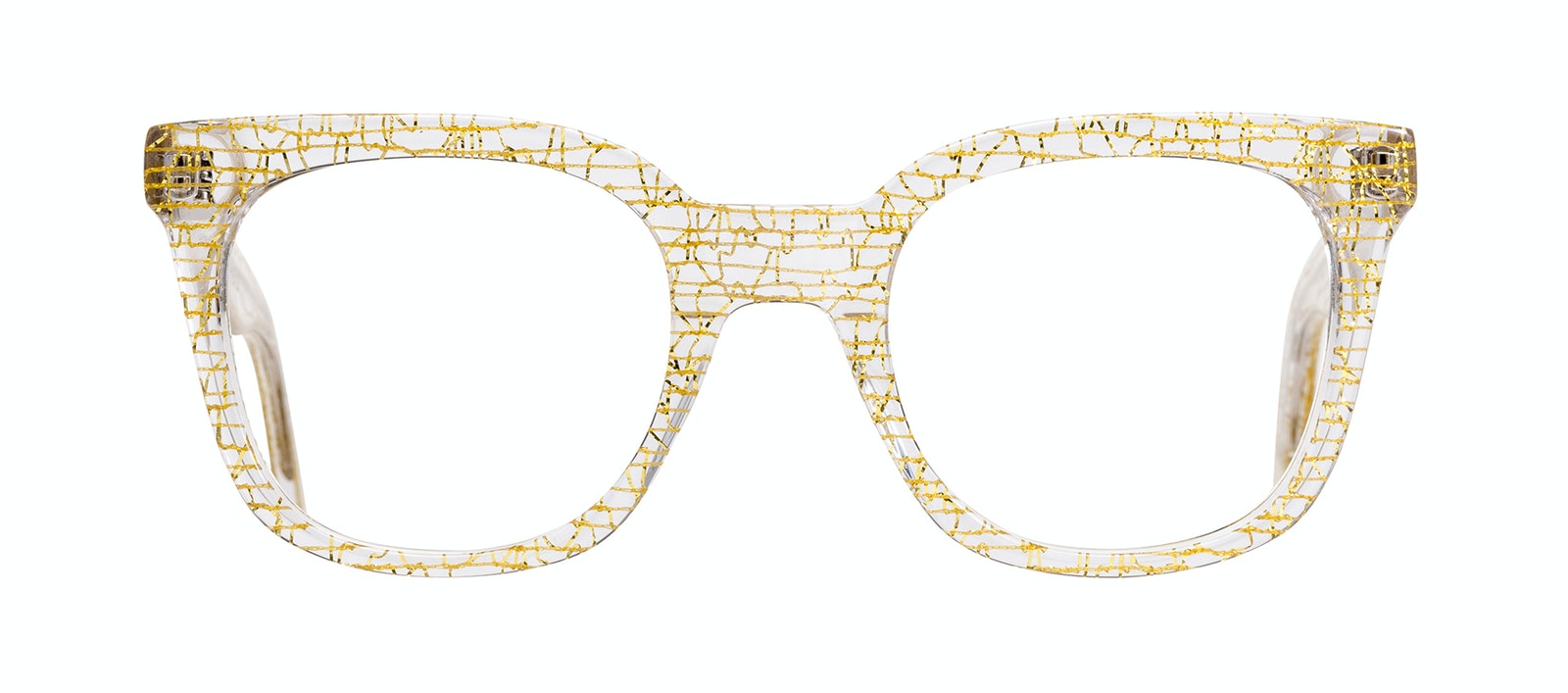 05e4c9a21e ... Affordable Fashion Glasses Rectangle Square Eyeglasses Women Jack    Norma Champagne Front ...